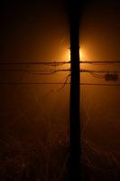 Street Lamp Silhouette by Jason Smith